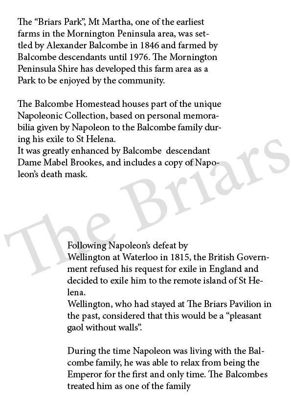 Briars History