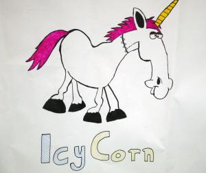 icy corn