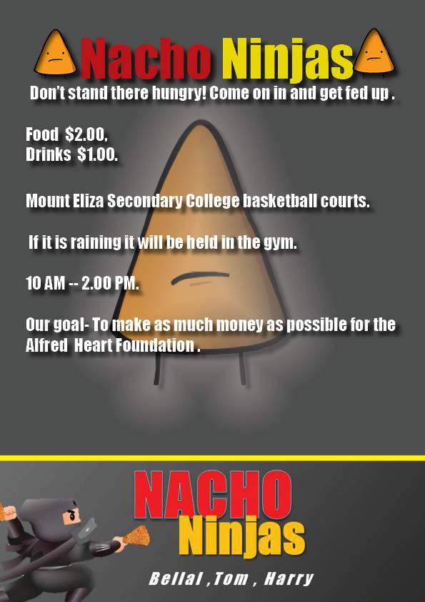 Nacho Ninjas FLYER